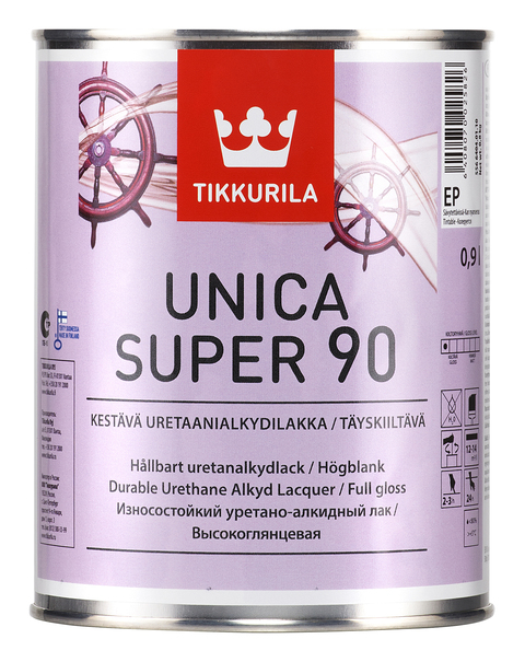 ТИККУРИЛА УНИКА СУПЕР 90 (TIKKURILA UNICA SUPER). Фото �2