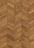 OAK CHEVRON LIGHT BROWN