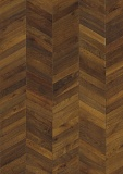 OAK CHEVRON DARK BROWN